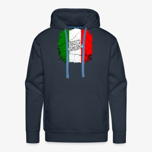 Proud Italian Stolzer Italiener Italienerin - Männer Premium Hoodie