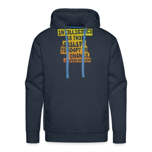 Stephen Hawking - Intelligence - Men's Premium Hoodie