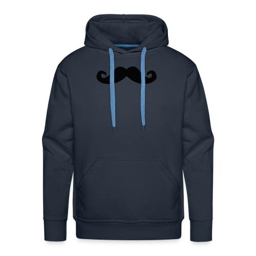 mustache - Premium hettegenser for menn