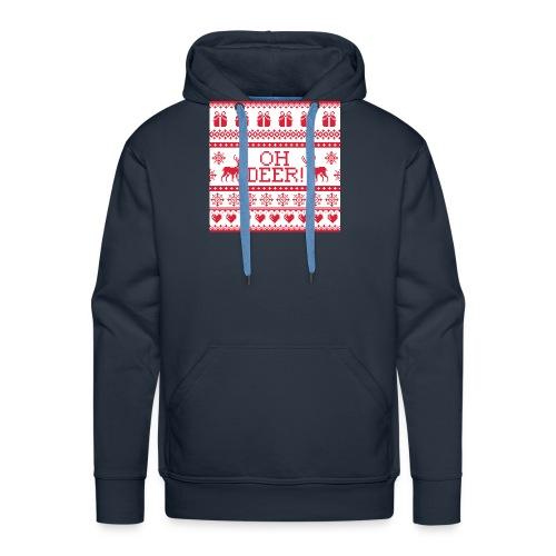Ugly Christmas Shirt Deer - Männer Premium Hoodie