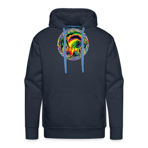 Casque à facettes - Sweat-shirt à capuche Premium pour hommes