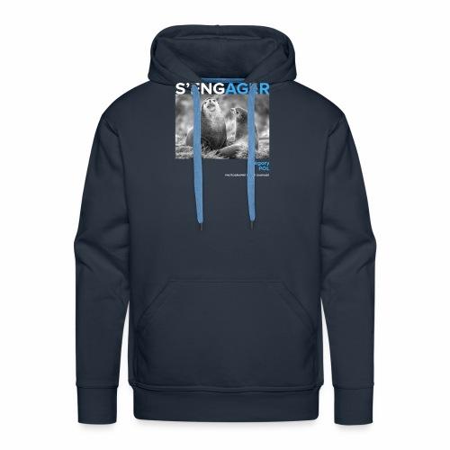 1 Achat = 1 Don au Centre de soin LPO Aquitaine - Sweat-shirt à capuche Premium pour hommes