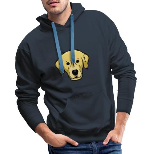 Perro - Sudadera con capucha premium para hombre