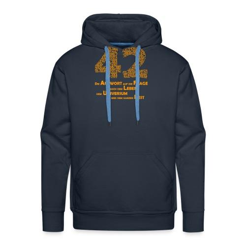 DIE Antwort - 42 - Männer Premium Hoodie