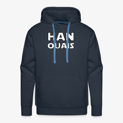 han ouais star space wars - Sweat-shirt à capuche Premium pour hommes
