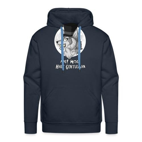 Half Wolf Half Gentleman - Men's Premium Hoodie