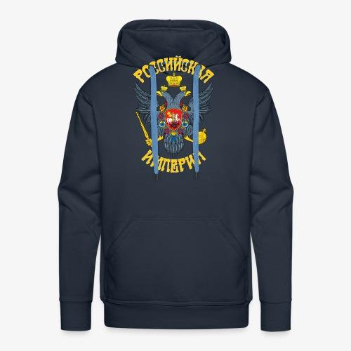 Wappen des Russischen Imperiums Russland - Männer Premium Hoodie