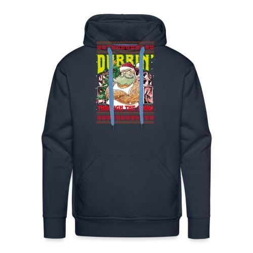 Dubbin' through the snow - Männer Premium Hoodie