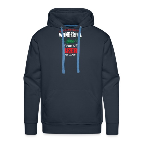 Beer Wonderful - Sweat-shirt à capuche Premium pour hommes