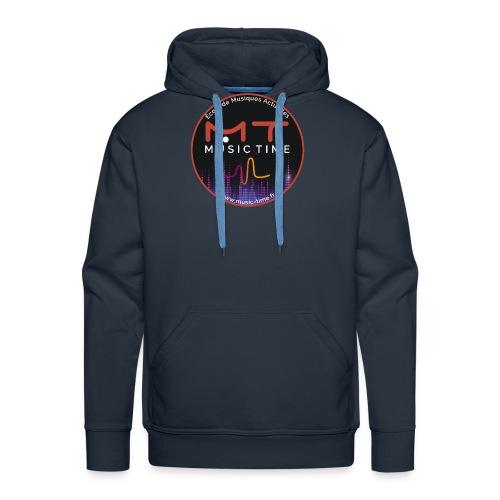 Logo MUSIC TIME 2020 - Sweat-shirt à capuche Premium pour hommes