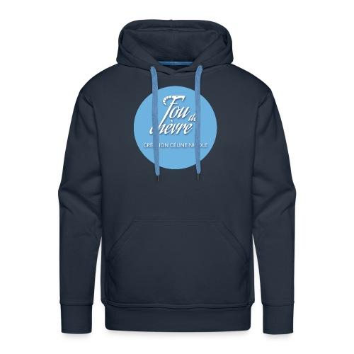 Fou de chèvre - Sweat-shirt à capuche Premium pour hommes