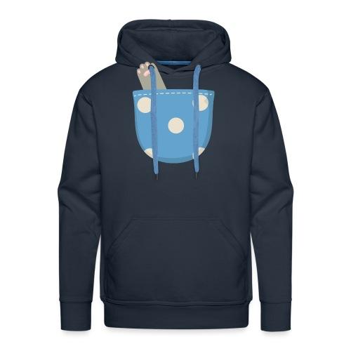 Garra en bolsillo - Sudadera con capucha premium para hombre