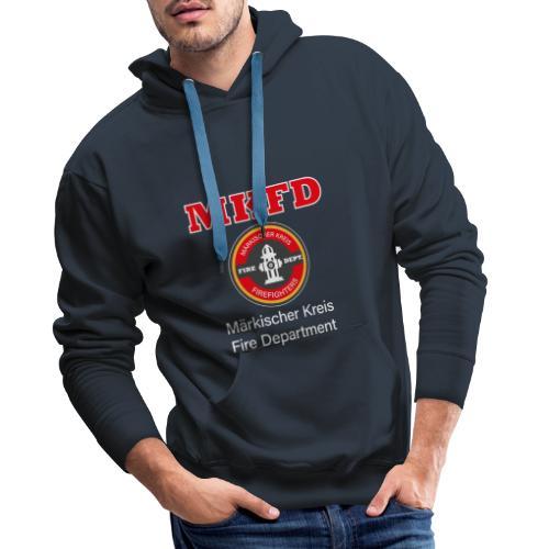 MKFD Märkischer Kreis Fire Department Feuerwehr - Männer Premium Hoodie
