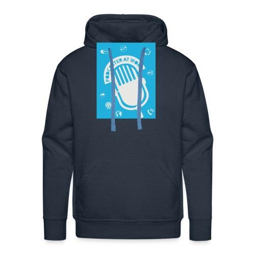 Podcaster at Work - Die Tasse für Podcaster - Männer Premium Hoodie