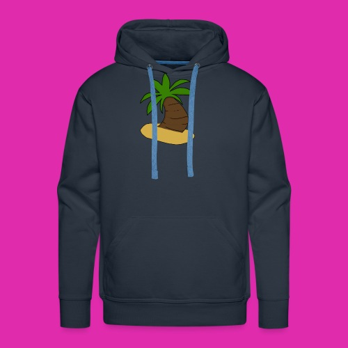 palm tree design - Men's Premium Hoodie
