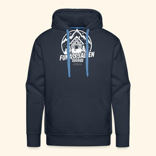 Funäsfjällen Sverige Ski resort T Shirt Design - Männer Premium Hoodie