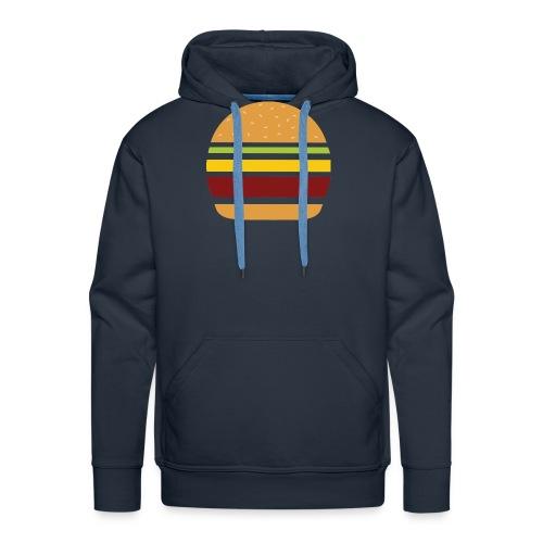 Logo Burger Panhamburger - Sweat-shirt à capuche Premium pour hommes