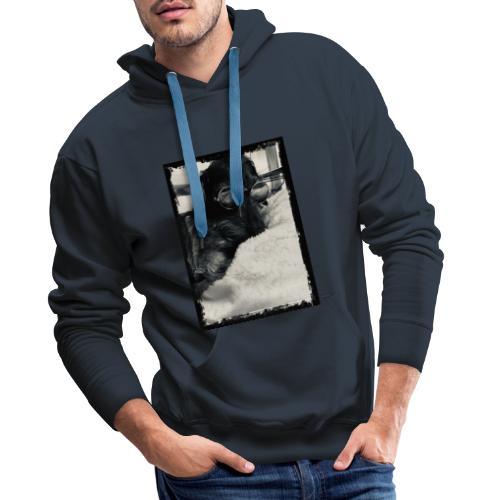 Instapaul framed - Männer Premium Hoodie