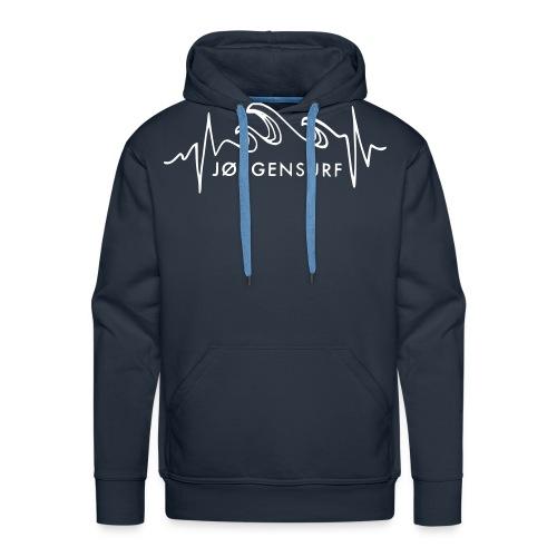 Logo Jørgensurf - Männer Premium Hoodie