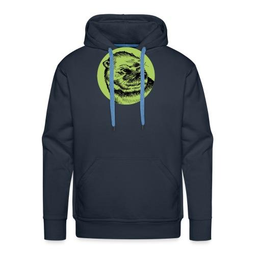 Une Loutre Verte - Sweat-shirt à capuche Premium pour hommes