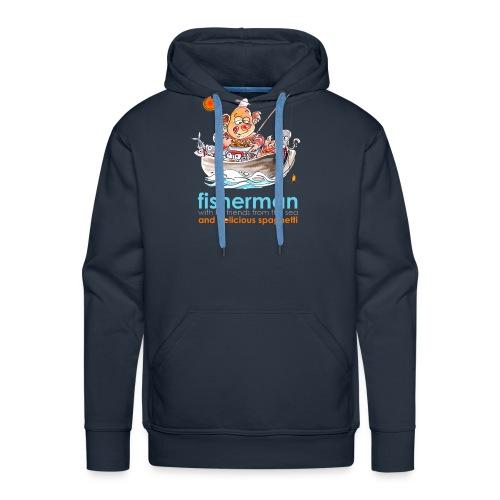 Fisherman - Felpa con cappuccio premium da uomo