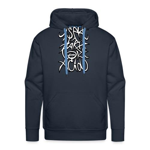 1sekt HxC acid 2coul - Sweat-shirt à capuche Premium pour hommes