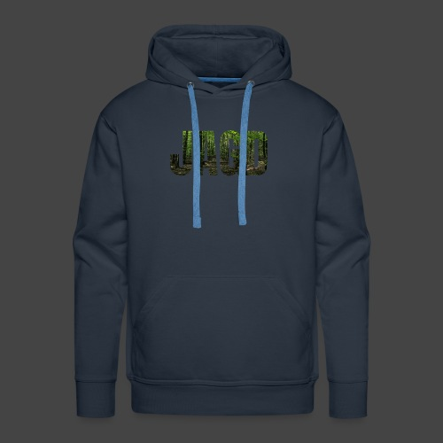 JAGD-Shirt für Jäger/innen, Motiv Wald - Männer Premium Hoodie