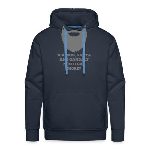 Viking Santa Gandalf - Mannen Premium hoodie