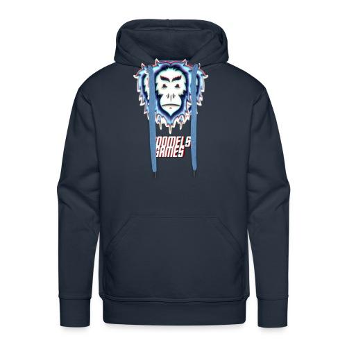 GoomelsGames logo & text teenager t-shirt. - Mannen Premium hoodie
