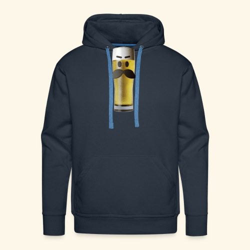 Beermoticon Mexican Lager - Men's Premium Hoodie