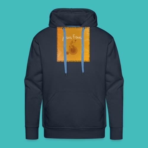 Fitness - Sweat-shirt à capuche Premium pour hommes