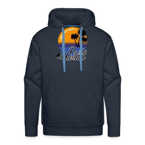 Puerto Hurraco - Sudadera con capucha premium para hombre