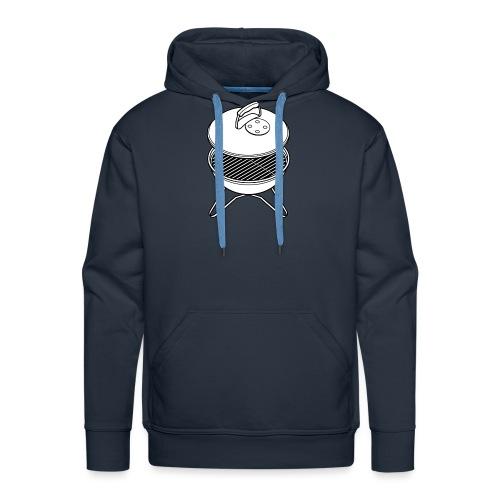 bbq2 - Mannen Premium hoodie