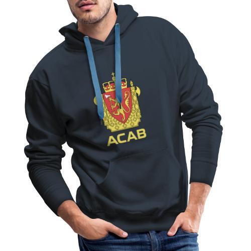 ACAB Logo - Premium hettegenser for menn