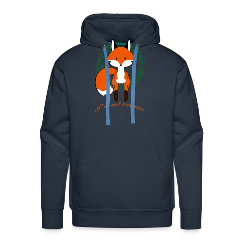 Red Fox - Sweat-shirt à capuche Premium pour hommes