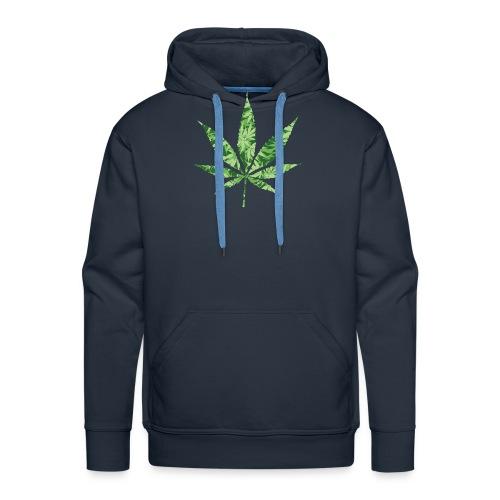 Weed Leaf - Mannen Premium hoodie