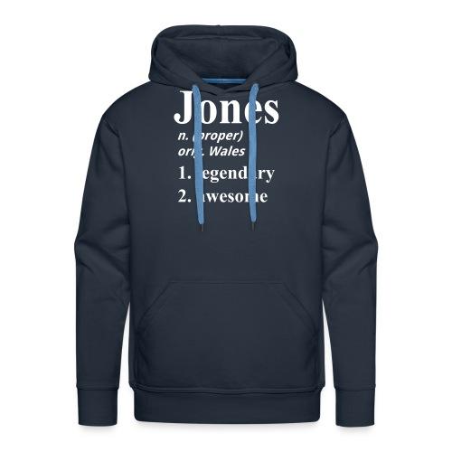 Jones 3e again - Men's Premium Hoodie