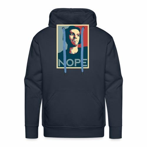 NOPE USA - Sweat-shirt à capuche Premium pour hommes