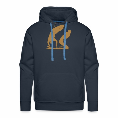 jeu de capoeira - Sweat-shirt à capuche Premium pour hommes