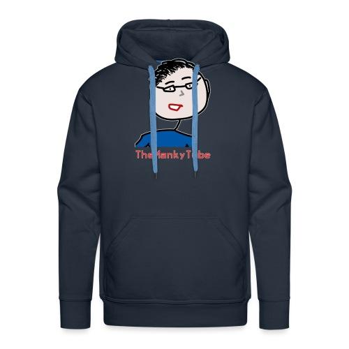 Shirt mit fragwürdig aussehendem Gesicht - Männer Premium Hoodie