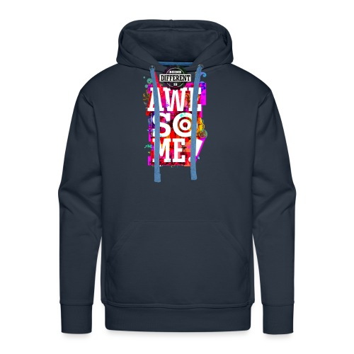 Different = Awesome - Men's Premium Hoodie