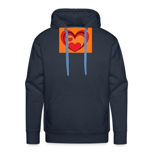 hart-png - Mannen Premium hoodie