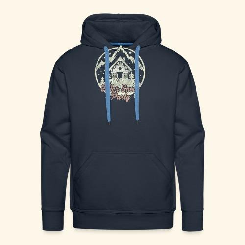 Apres Ski Party T Shirt After Snow Party - Männer Premium Hoodie