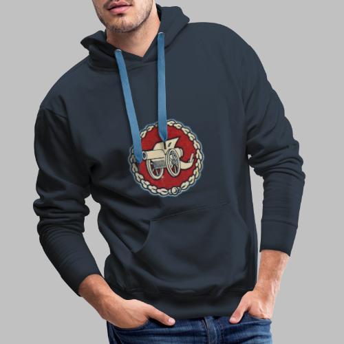 Odznaka działa polowego - Bluza męska Premium z kapturem