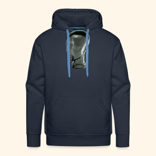 kopf png - Männer Premium Hoodie