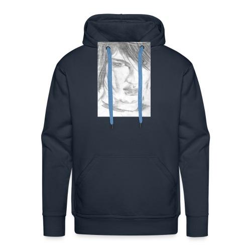 Gesicht - Männer Premium Hoodie