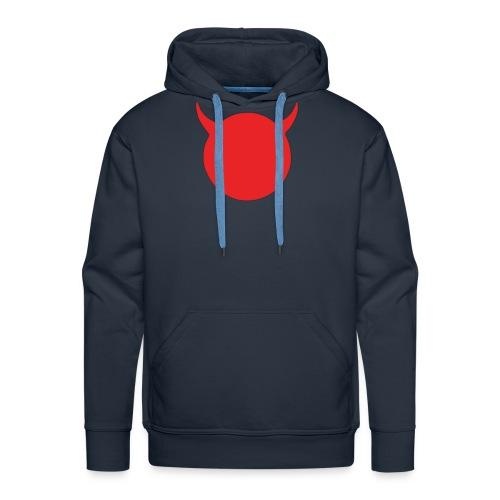 diable tete - Sweat-shirt à capuche Premium pour hommes