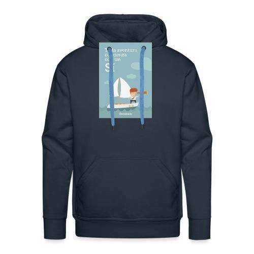 Camiseta Toda Aventura de Wanaleads - Sudadera con capucha premium para hombre