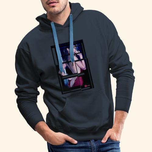 expo6ok break - Sweat-shirt à capuche Premium pour hommes