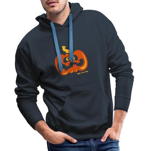 Scared Pumpkin - Men's Premium Hoodie